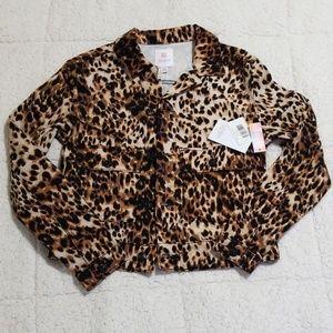 New Lularoe Kenny leopard XS